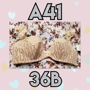 Chantelle Thomas for VS Pink Balconette 36B